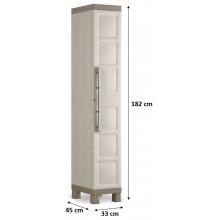 KIS EXCELLENCE HIGH 1 DOOR skříň 33x45x182cm béžová