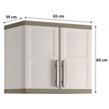 KIS EXCELLENCE WALL závěsná skříňka 65x39x60cm béžová