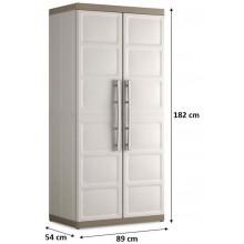 KIS EXCELLENCE XL HIGH skříň 89x54x182cm béžová