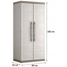 KIS EXCELLENCE XL UTILITY skříň 89x54x182cm béžová