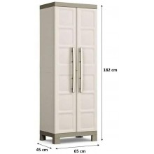 KIS EXCELLENCE HIGH Skříň 65x45x182cm béžová