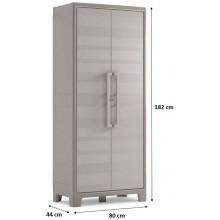 KIS GULLIVER HIGH skříň 44x80x182cm béžová