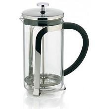 KELAKonvička na čaj a kávu French Press 1,1 L, nerezKL-10852