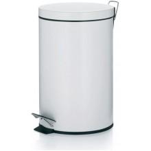 KELA Koš odpadkový 12 l CORNELL, bílá KL-10929
