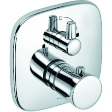 KLUDI Amba podomítková termostatická vanová/sprchová baterie, chrom 538300575