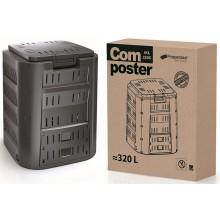 Prosperplast COMPOGREEN Kompostér 320l, černá IKST320C