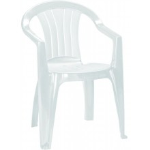 CURVER SICILIA zahradní židle, 56 x 58 x 79 cm, bílá 17180048