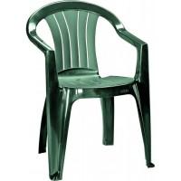 CURVER SICILIA zahradní židle, tmavě zelená 17180048