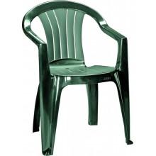 CURVER SICILIA zahradní židle, 56 x 58 x 79 cm, tmavě zelená 17180048