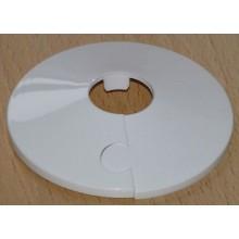 Plastová krycí růžice dělená 15 mm