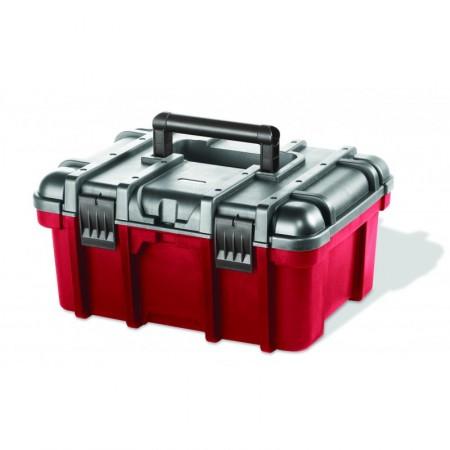 KETER kufřík POWER, 41,9 x 32,7 x 20,5 cm, červená/šedá/černá,17186775