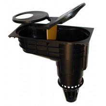 Lapač střešních splavenin - geiger CR 100 DN110 černý