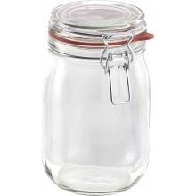 LEIFHEIT zavařovací sklenice s klipem a těsnící gumou 1,14 l 03193
