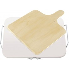 LEIFHEIT Kámen na pečení pizzy hranatý s dřevěným prkénkem 03160