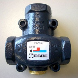 """ESBE VTC 511 / 50°C Termostatický ventil, RP 1"""", DN: 25, KVS: 9 m3/hod 51020100"""