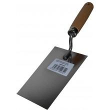 MAGG Nerezová zednická lžíce 160 mm, dřevěná rukojeť 080075