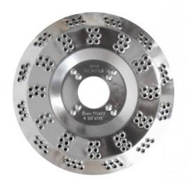 MAGG Rotační rašple 115mm do úhlových brusek, tloušťka 0,5mm