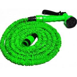 COBRA Zahradní flexi hadice 7,5-22,5m se stříkací pistolí, zelená