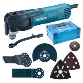 MAKITA Multi Tool s příslušenstvím 320W, multifunkční bruska, systainer TM3010CX5J