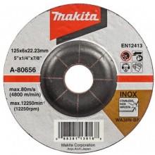 Makita A-80656 brusný kotouč 125x6x22mm nerez