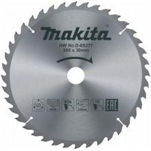 MAKITA D-65377 Pilový kotouč na dřevo 260mm x 30mm, 40 zubů