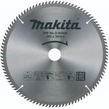MAKITA D-65408 Pilový kotouč na dřevo 260mm x 30mm, 100 zubů