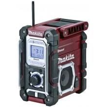 MAKITA DMR108 Aku rádio s Bluetooth, LXT Li-ion 7,2V-18V, bordó