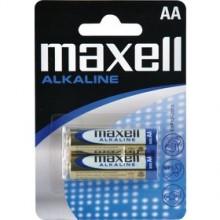 MAXELL Alkalické tužkové baterie LR6 2BP 2xAA (R6) 35032039
