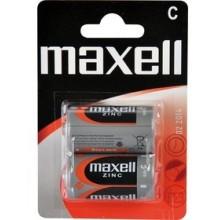 MAXELL Zinko-manganová baterie R14 2BP Zinc 2x C 35009849