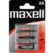 MAXELL Zinko-manganová baterie R6 4BP Zinc 4x AA 35009859