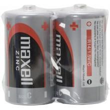 MAXELL Zinko-manganová baterie R14 2S Zinc 2x C SHRINK 35041551