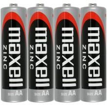 MAXELL Zinko-manganová baterie R6 4S Zinc 4x AA SHRINK 35041553