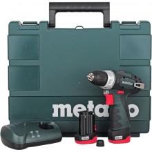 Metabo 600080500 POWERMAXX BS BASIC Akum. vrtací šroubovák 10.8V 2x2Ah Li-Ion