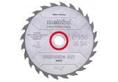"Metabo 628031000 ""Precision cut wood - professional"" Pilový kotouč 160X20, Z24 WZ 20°"