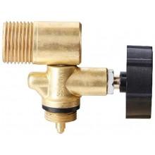MEVA boční ventil levý závit W 21,8 na 2 kg PB láhev 2156UVB