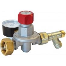 "MEVA Regulátor tlaku PB 0,5-4 Bar, 14 kg/h G3/8""L manometr, pojistka 4498"