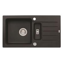 ALVEUS NIAGARA 70 granitový dřez, 780 x 435 mm, černá 1089487