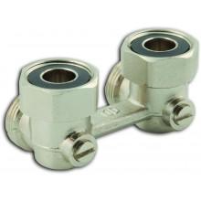 """NOVASERVIS radiátorový uzavírací ventil dvojitý rohový 3/4"""" RA350/25"""