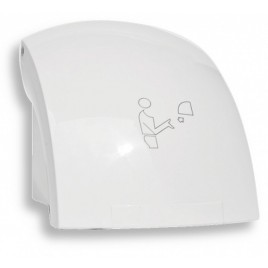 NOVASERVIS Elektrický senzorový osoušeč rukou, 1500 W, bílá 69091,1