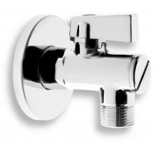 """NOVASERVIS rohový ventil s filtrem, krytkou a kovovou pákou 1/2""""X3/8"""" CF3010/10"""