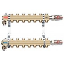 NOVASERVIS rozdělovač s regulačními ventily, 3 okruhy RO03