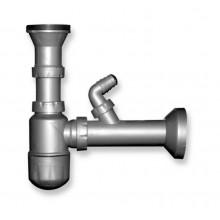 NOVASERVIS sifon pro dřez, 49mm, bez přepadu NSP45