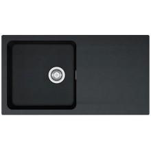 Franke Orion OID 611, 940x510 mm, tectonitový dřez, černá 114.0288.543