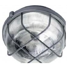 PANLUX KRUH přisazené stropní a nástěnné svítidlo 100W, šedá SKP-100/S