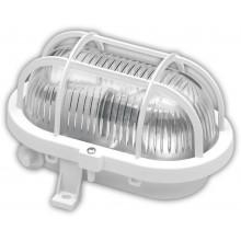 PANLUX OVAL nástěnné svítidlo 60W, bílá SOP-60/B