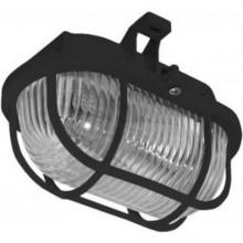 PANLUX OVAL přisazené nástěnné svítidlo 60W, černá SOP-60/C
