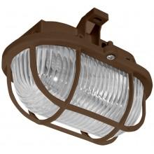 PANLUX OVAL přisazené nástěnné svítidlo 60W, hnědá SOP-60/H
