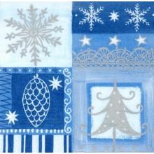 PAPSTAR Vánoční ubrousky Winter feeling