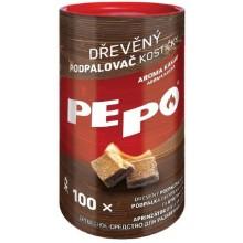 PE-PO dřevěný podpalovač kostičky 100ks 2068926