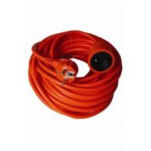 SOLIGHT Prodlužovací kabel 30m 3x1,5mm2 - oranžový PS08